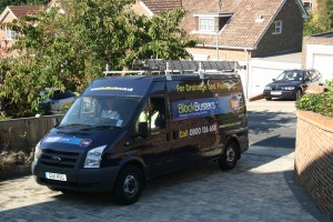 Plumbers - Clean Professional Van